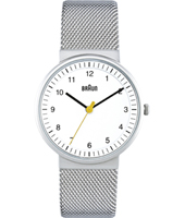 BN0031 33mm Silver & White Design Watch