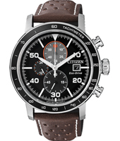 CA0641-24E Sport Eco-drive 44mm Solar Powered Chronograph with Tachymeter
