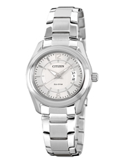 Sport Eco-Drive 31mm Silver ladies watch with date