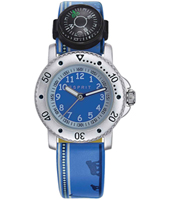 Savanna trek Blue children's watch with compass