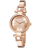 Zoe 28mm Rose Gold Ladies Watch with Date