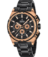 Chrono Bike Special Edition 45mm Rose Gold & Black Cycling Inspired Chronograph