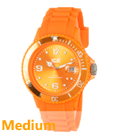 Ice-Forever Orange watch size Medium