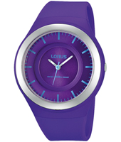40mm Purple Children's Watch with Blue indexes