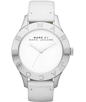 Blade 40mm Large White & Silver Ladies Watch