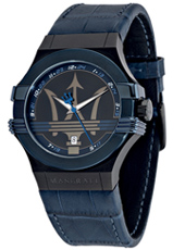 Potenza  Blue & Steel Watch with Date