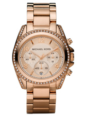Blair 39mm Rose Gold Lady Chrono Watch