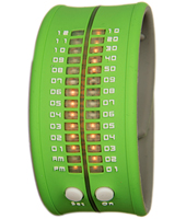 PD0019 35mm Green binary watch
