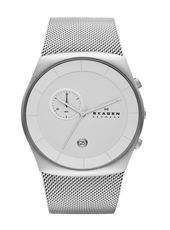 Havene 42mm Silver Milanese Gents Chronograph