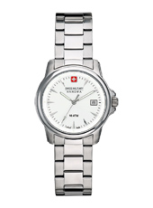 Swiss Recruit  28mm Silver Lady Watch