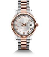 Debby Rose Gold Ladies Watch with Date