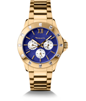 Ruby Gold Ladies Watch with DayDate