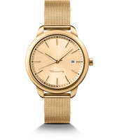 Valerie Gold Ladies Watch with Milanese Bracelet