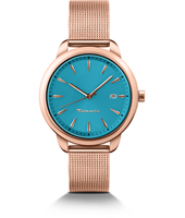 Valerie Rose Gold Ladies Watch with Milanese Bracelet